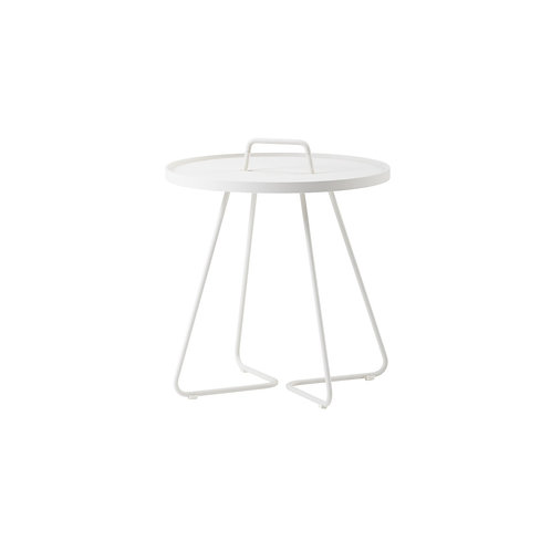 On-the-move sidebord, hvid / On-the-move side table, white