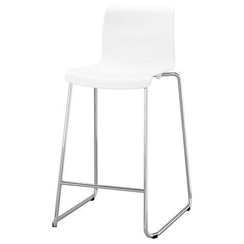 Barstol hvid stabelbar / bar stool white stackable