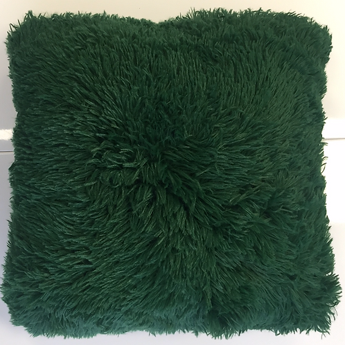 Pude, grøn plys / pillow green plush