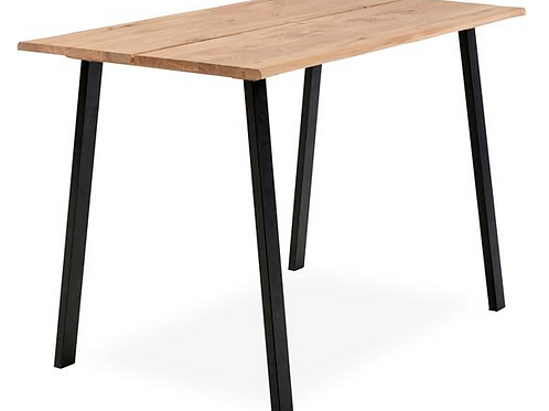Plankebarbord, olieret eg / Plank bar table, oil treated oak