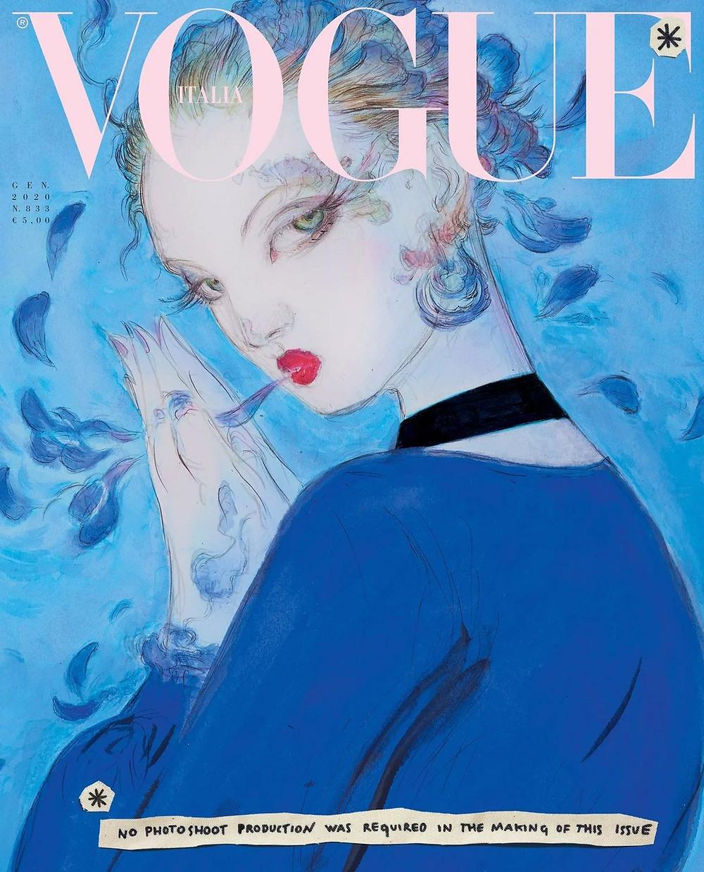 [Yoshitaka Amano, Vogue Italia]