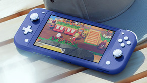 NEW Blue Nintendo Switch Lite Is Out Next Month