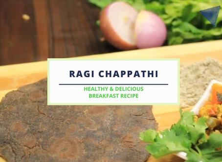 Ragi Chappathi - Recipe