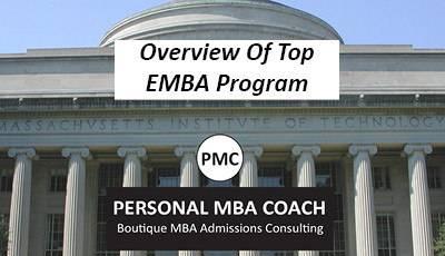 Personal MBA Coach's Overview of Top EMBA Programs
