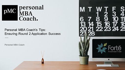 Forte - Personal MBA Coach - Preparing f