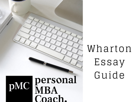 Wharton Class of 2022 - Essay Questions & Analysis - Fall 2019 - Spring 2020