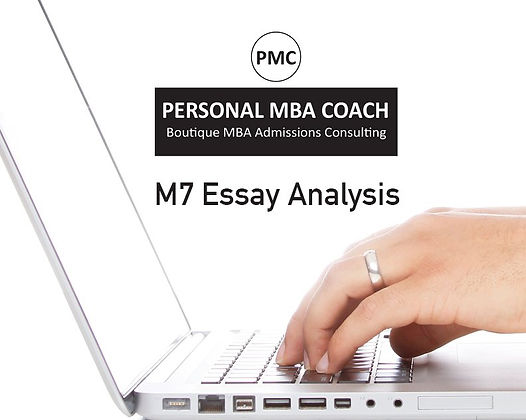 M7 Essay Analysis   Personal MBA Coach