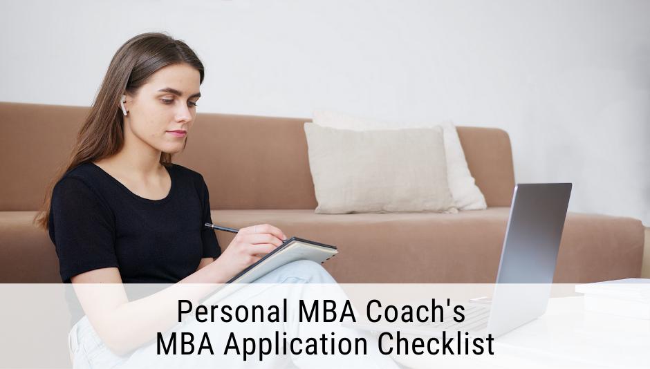 mba-application-checklist