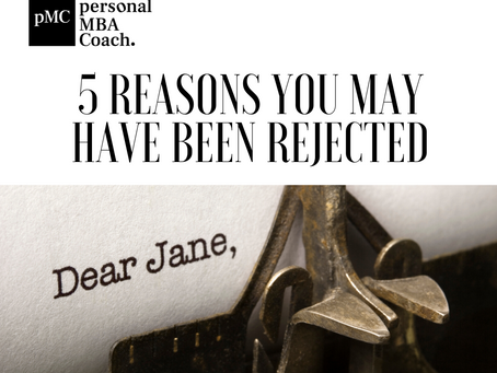 5 Reasons You May Have Been Rejected