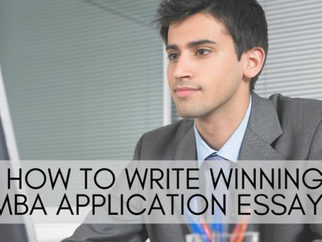 How to Write Winning MBA Application Essays