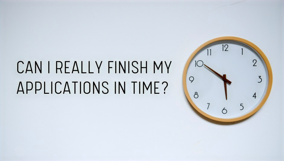 can-i-really-finish-my-mba-applications-in-time