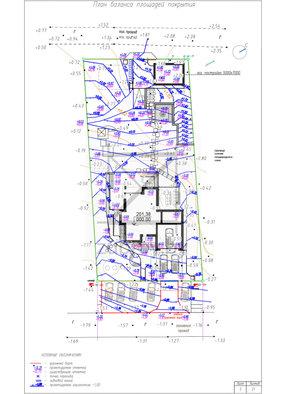 план баланса площадей и высот