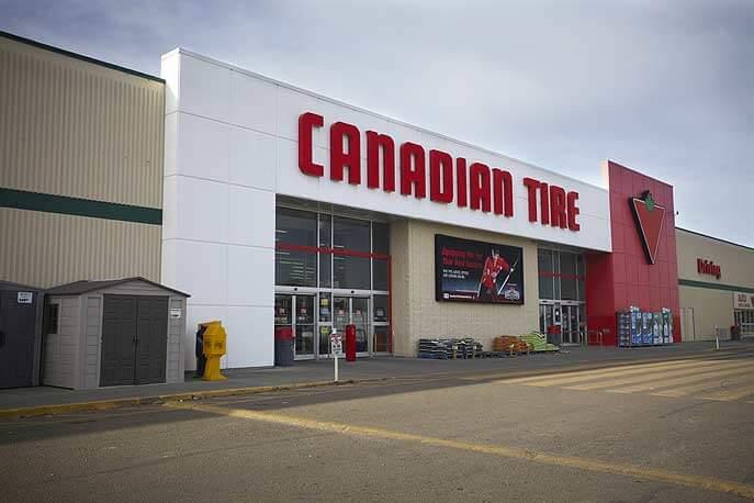 Canadian Tire Company, Kingsway Ave.