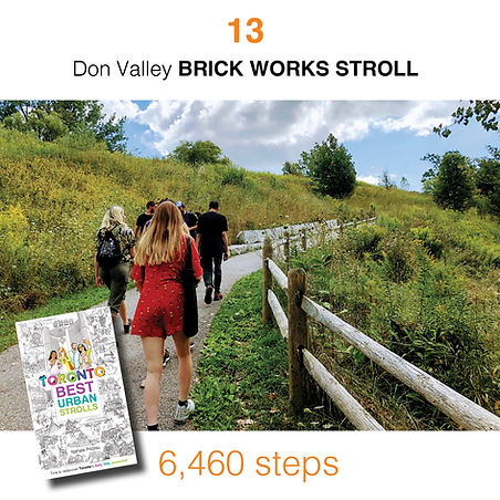 WALK #13 Don Valley BRICK WORKS STROLL b