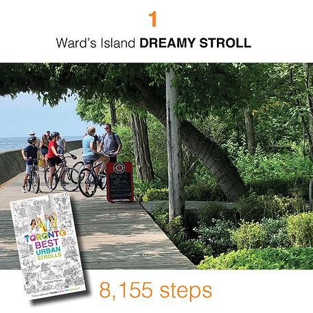WALK #1 Ward's Island DREAMY STROLL by N
