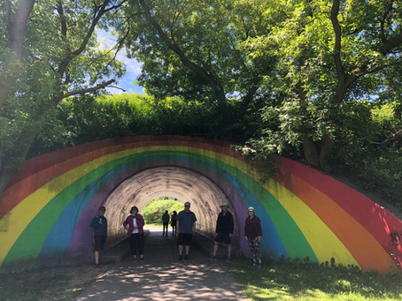 Mini-walk #52 for the CURIOUS minds in Toronto (around the Rainbow Tunnel)