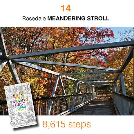 WALK #14 Rosedale MEANDERING STROLL by N