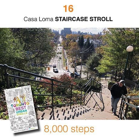 WALK #16 Casa Loma STAIRCASE STROLL by N