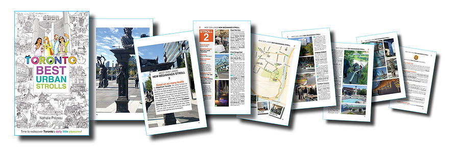 bloc Walk 2 West Don Lands NEW BEGINNING