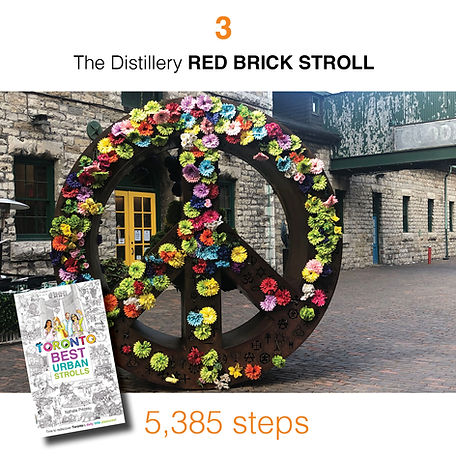 WALK #3 The Distillery RED BRICK STROLL