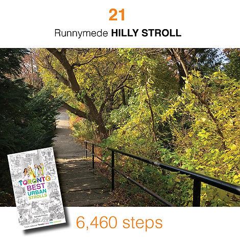 WALK #21 Runnymede HILLY STROLL by Natha