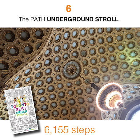 WALK #6 The PATH UNDERGROUND STROLL by N
