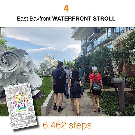 WALK #4 East Bayfront WATERFRONT STROLL