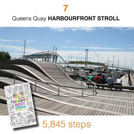 WALK #7 Queens Quay HARBOURFRONT STROLL