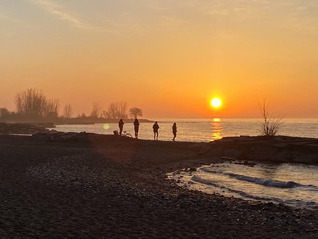 3rd Week of SUNRISES at Woodbine Beach (3/4)