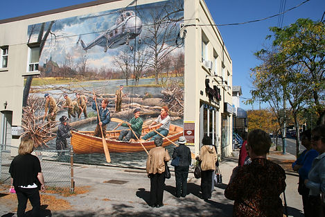 Islington Village of Murals by John Kuna