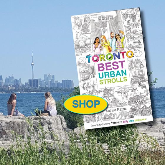 SHOP for Toronto walking guides
