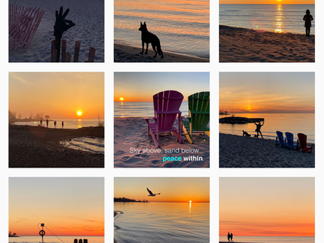 My TORONTO's sunrise silhouettes