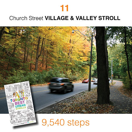 WALK #11 Church Street VILLAGE & VALLEY
