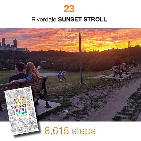 WALK #23 Riverdale SUNSET STROLL by Nath
