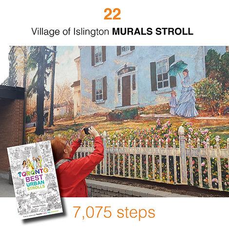 WALK #22 Village of islington MURALS STR