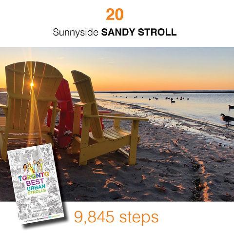 WALK #20 Sunnyside SANDY STROLL by Natha