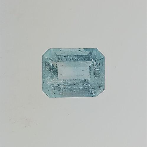 4.26ct Aquamarine Emerald Cut