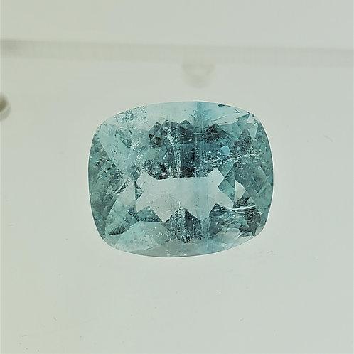 Aquamarine 11.65cts Cushion Cut Gemstone