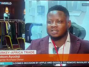 Nelson Africa's President featured on TRT World News