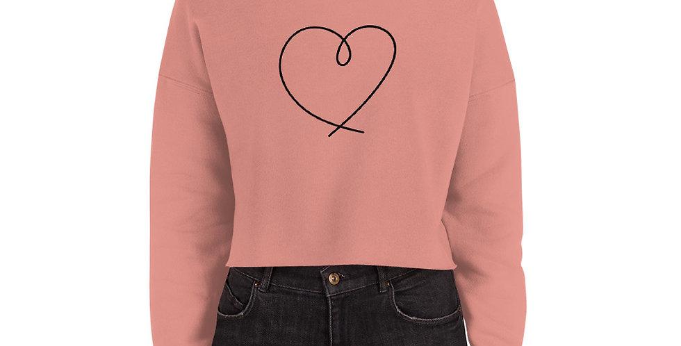 L Crop Sweatshirt