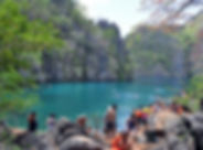 coron kayangan lake tour