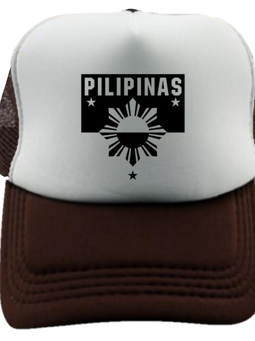 Pilipinas Trucker Cap (White)