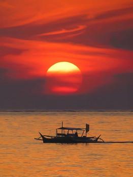 Sunset at Cloud 9