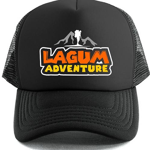 Logo Trucker Cap (Black)