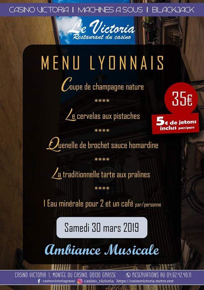 menu lyonnais