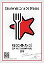 Certificat GURU restaurant LE VICTORIA.p