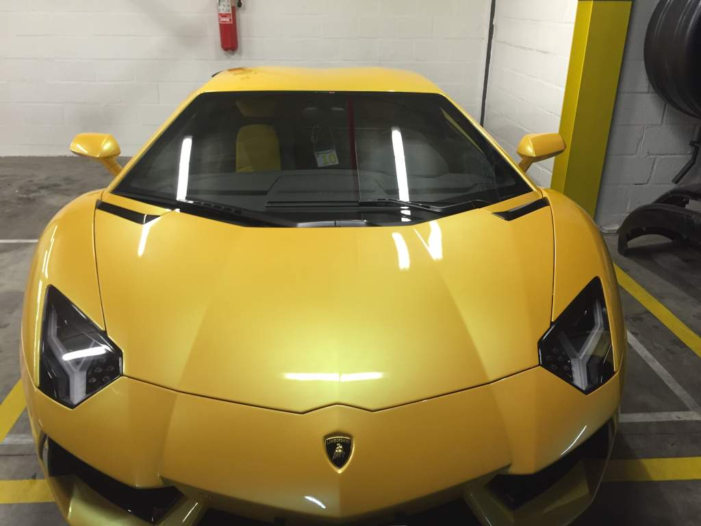 Polissage Lamborghini