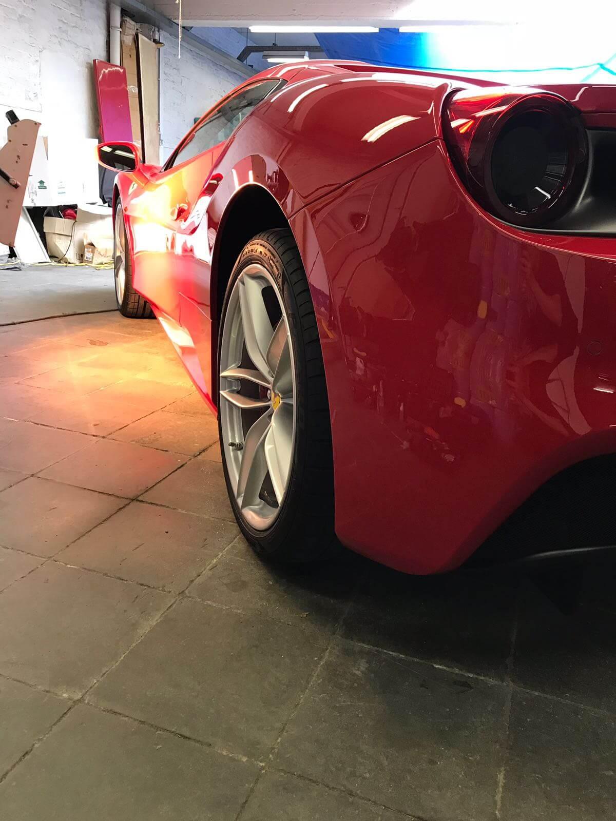 Protection céramique Ferrari Gouz Shining