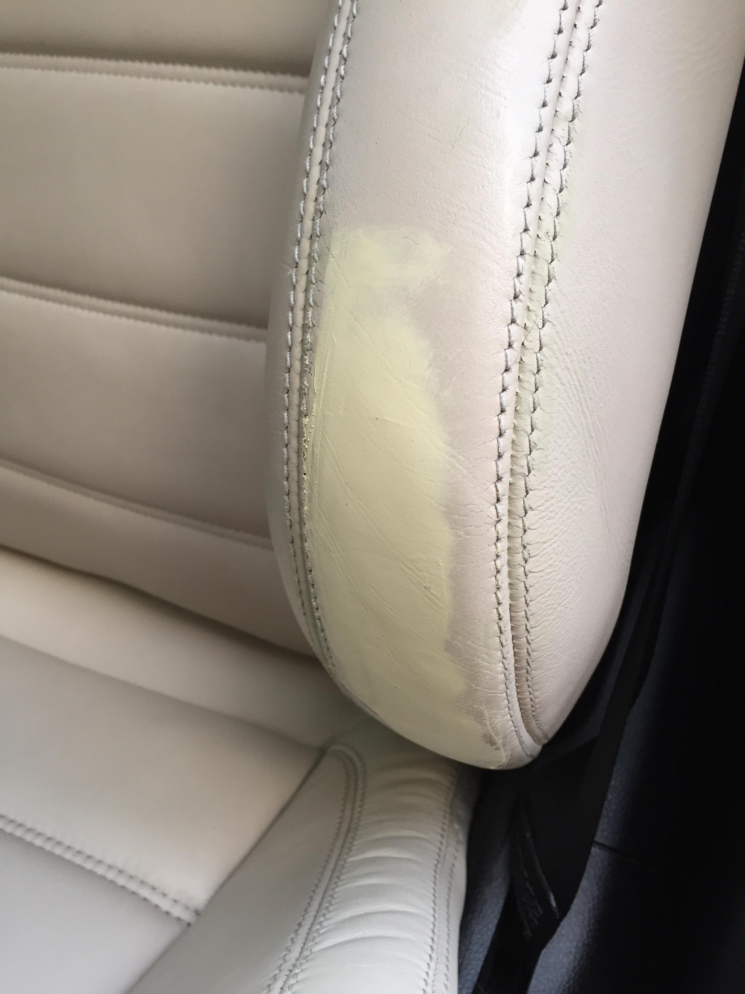Réparation cuir automobile