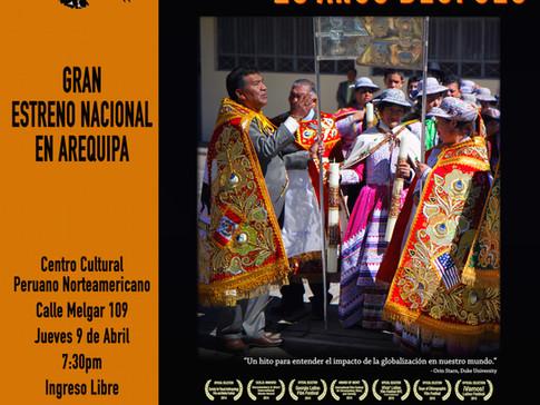 "Peru Premiere of ""Transnational Fiesta: Twenty Years Later"" in Arequipa"